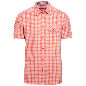 axant Alps Travel Shirt Agion Active Men red check